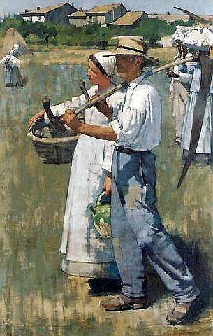 In the Dauphiné , 1885 // Henry Herbert La Thangue