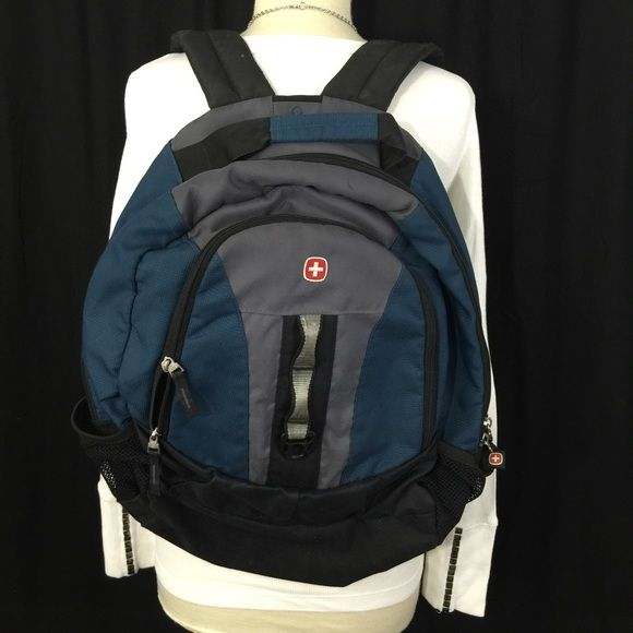 Pre-LovedArmy Swiss Backpack Good condition. Clean. Two compartments. Bags Backpacks