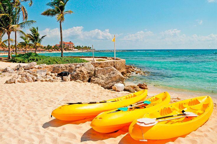 Amamos #PlayaDelCarmen porque sus playas son de las mejores del mundo!!! #Playa #Mexico