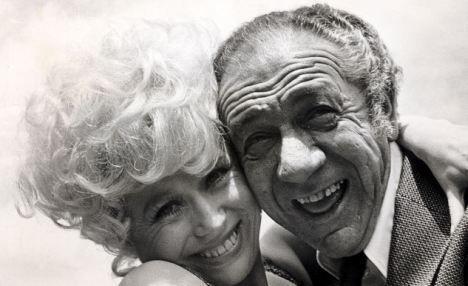 Sid James and Barbara Windsor