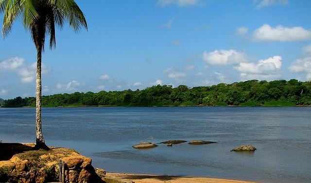 Guiana Francesa/Clevelandia do Norte - Rio Oiapoque