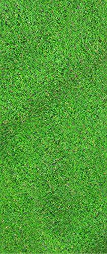 Garden Grass Collection Indoor/out door Green Artificial Grass Turf Runner Rug (20''x59'') 20 Inch By 59 Inch Artificial Solid Grass Design Runner Rug Ottomanson http://www.amazon.com/dp/B0108Z7F9K/ref=cm_sw_r_pi_dp_zPsywb0Z1KACD
