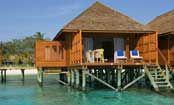 Meeru Island Resort - Maldives - Overwater Bungalows