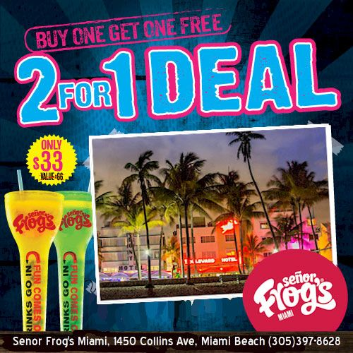 Senor frogs coupons