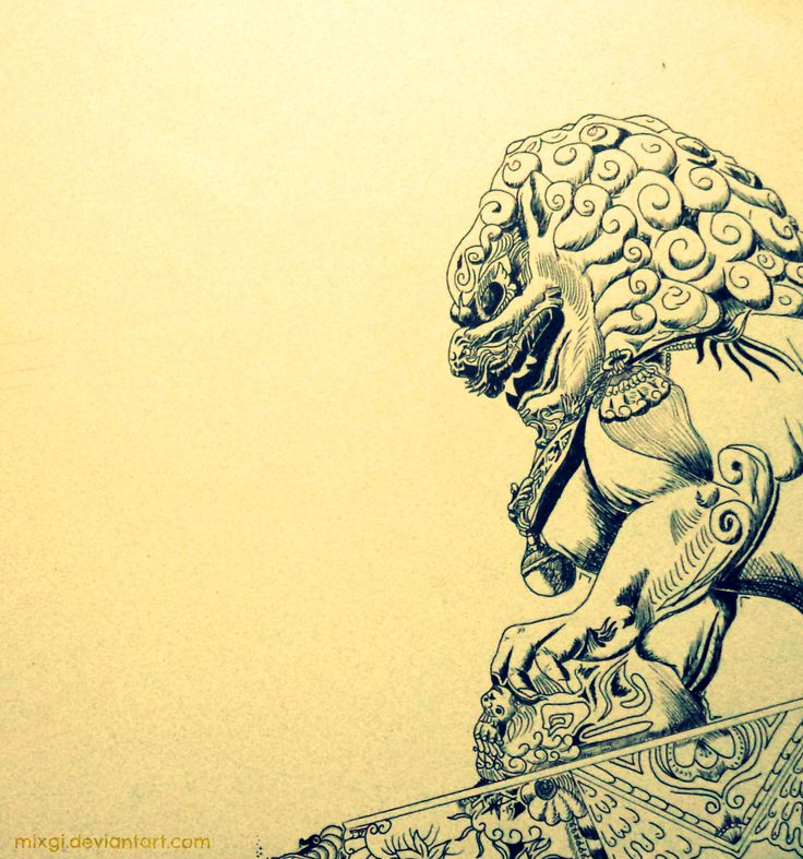 león de fu hembra