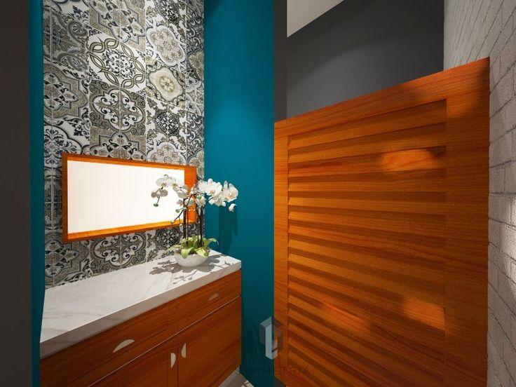 Modern | Bathroom | Hazel Cafe | Samarinda | Symmetria Design and Build