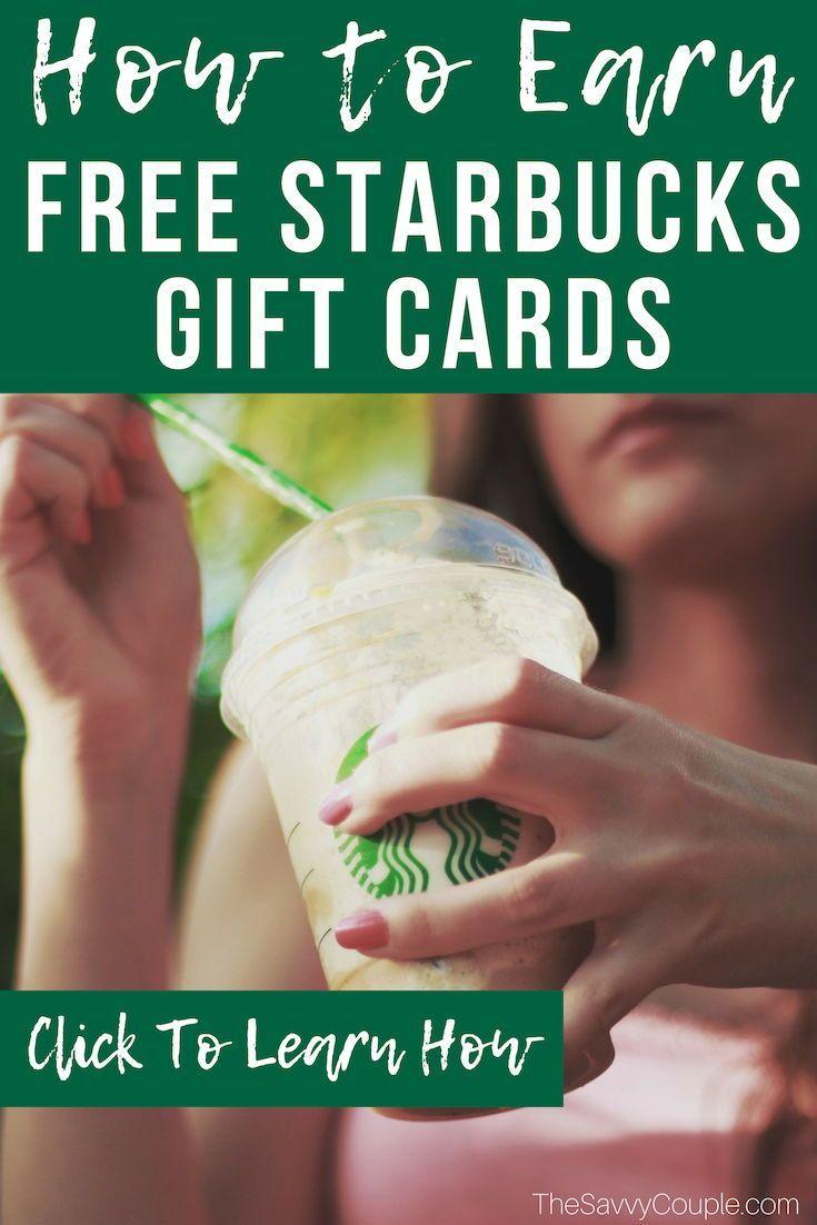 Starbucks Christmas Gift Cards 2020 15 Genius Ways to Get FREE Gift Cards in 2020 (Amazon, Starbucks