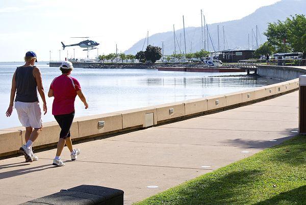 An stroll on the Esplanade – popular Cairns activity