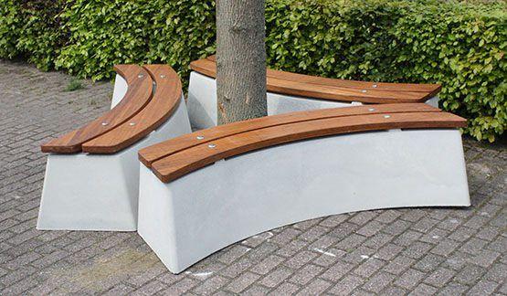 Beton Parkbank, Parkbank aus Beton, Parkbänke aus Beton, Beton Parkbänke - Tischtennisplatte-aus-Beton.de - HeBlad