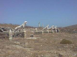 """Historical dialogue and habits of speech"" - one of an occasional series of blog posts on aspects of dialogue in fiction.  The picture is from Delos, Cyclades Islands, Greece"