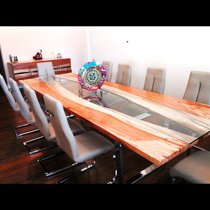 Custom Made Wood Table  Bookend Table  Made to Order  Austin