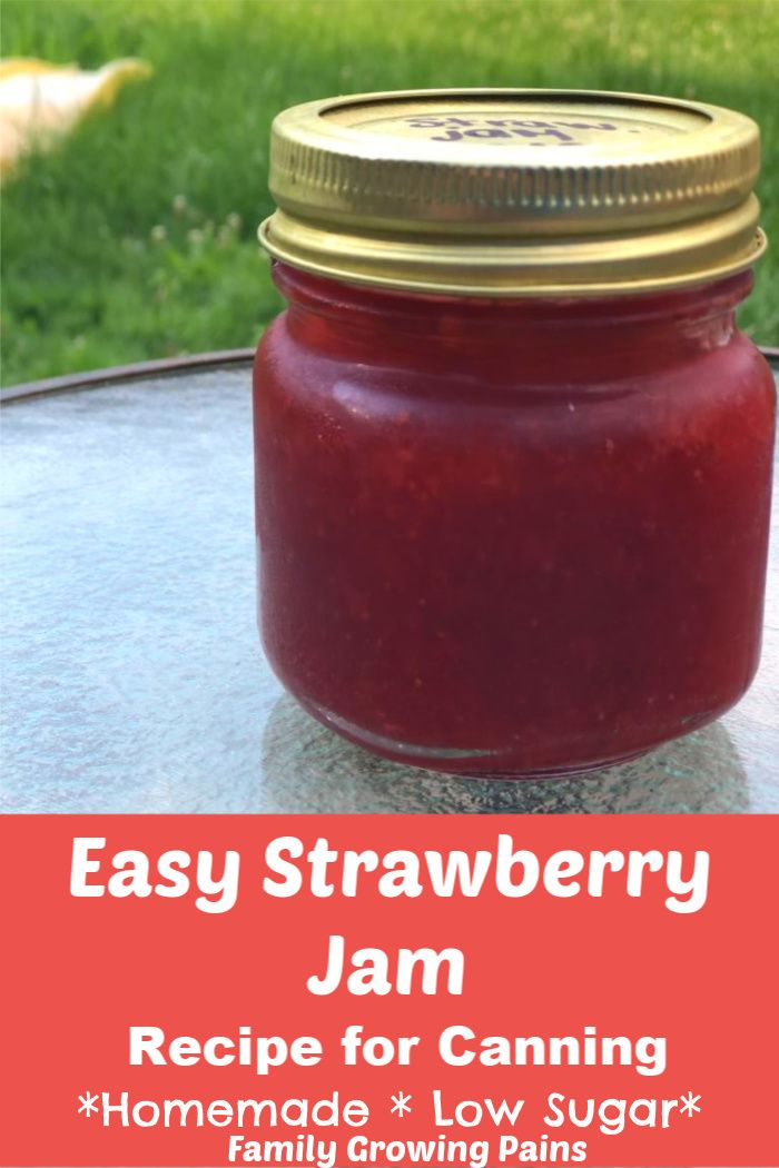 Easy Strawberry Jam Recipe for Canning