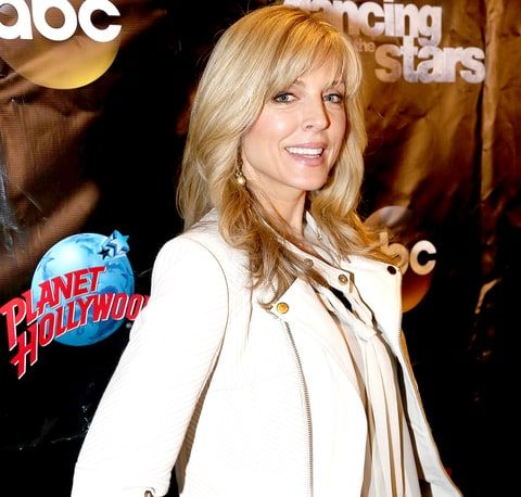 Marla Maples poses at the 22nd Season Stars of ABC's