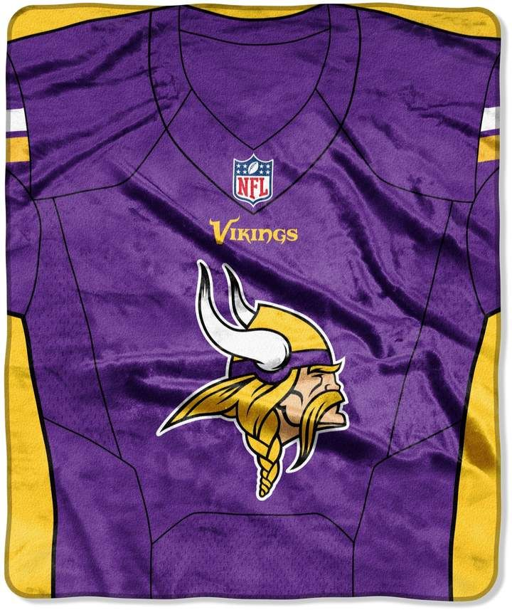 new products ebcb7 08f36 Minnesota Vikings Jersey Raschel Throw by Northwest #wear ...