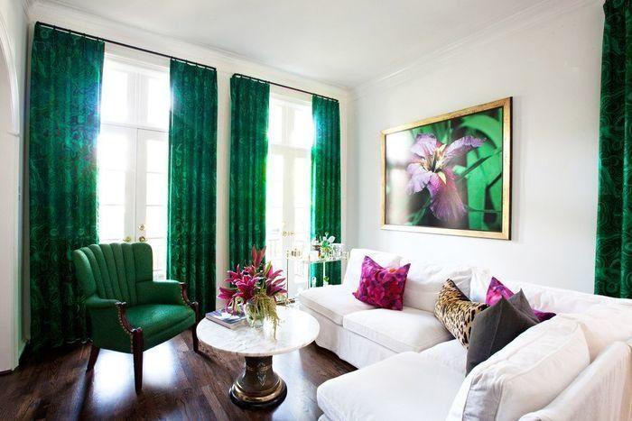 Стильные яркие шторы для дома — Роскошь и уют