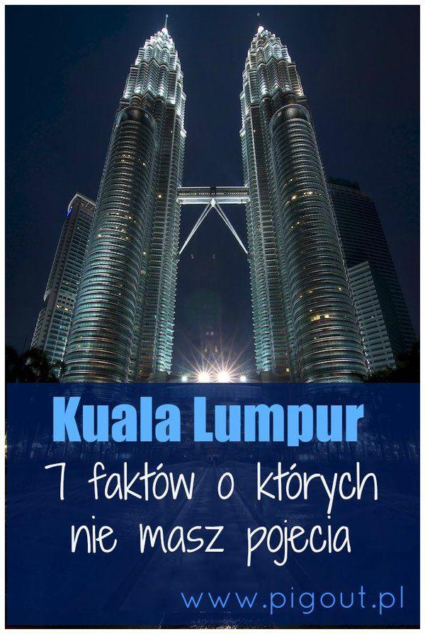 """2 część cyklu Wszystko co chciałbyś wiedzieć, a nie znajdziesz tego w Wikipedii. Tym razem smaczki z Kuala Lumpur. Miasto znane głównie z Petronas Tower oraz filmu """"Osaczeni"""". Od 2014r. pierwszym skojarzeniem dla Kuala są katastrofy lotnicze. W ciągu jednego roku trzem malezyjskim liniom lotniczym przytrafiło się kolejno: zaginięcie, zestrzelenie i rozbicie na morzu jawajskim. Każdy z pechowych samolotów albo startował z, albo właśnie zmierzał do KL"""