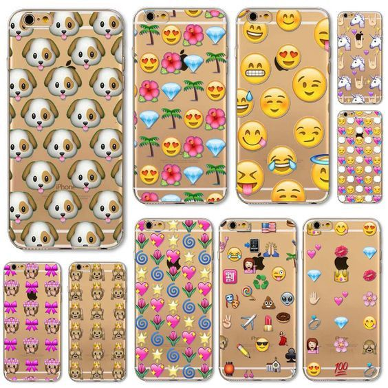 Emoji Soft Case Available in Several Cute Styles. Constructed from smooth, treated rubber that resists dirt and stains TPU is tear resistance and flexible. The design allows easy access to all buttons