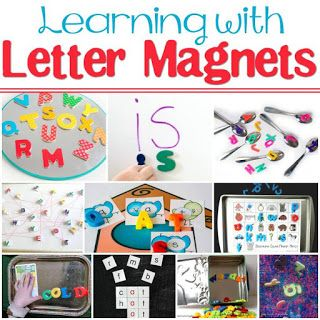 Magnetic Letters Travel Game | Alphabet activities, Letter ...