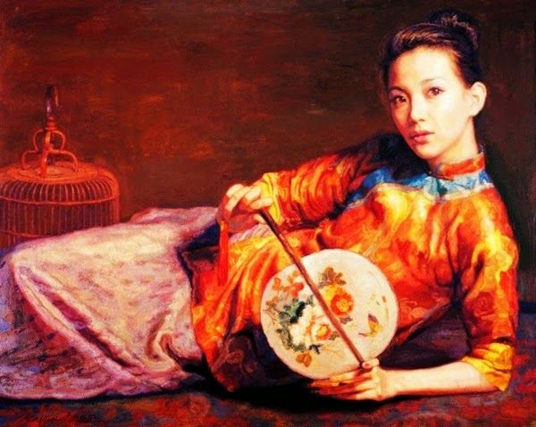 20 best Chen Yifei images on Pinterest Chen, Chinese art and Oil - qualität nolte küchen