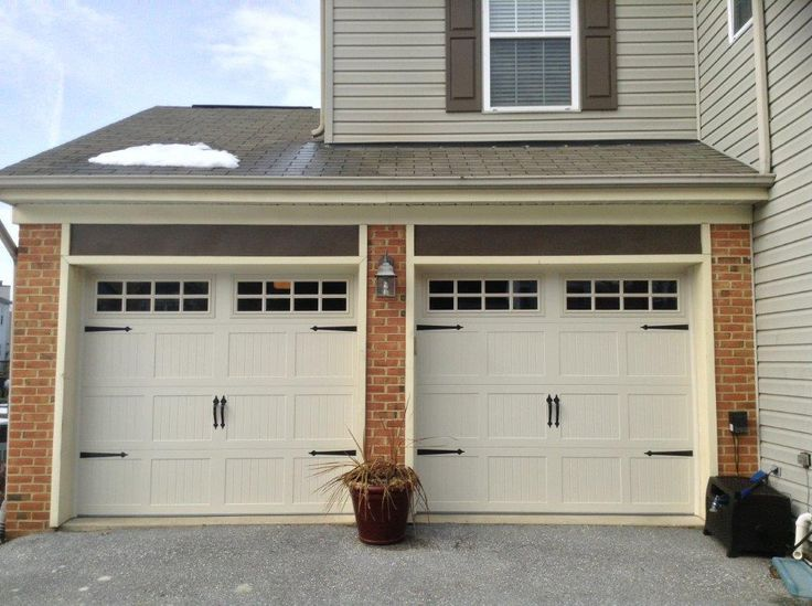 1000 images about garage doors on pinterest steel for 16x7 garage door with windows