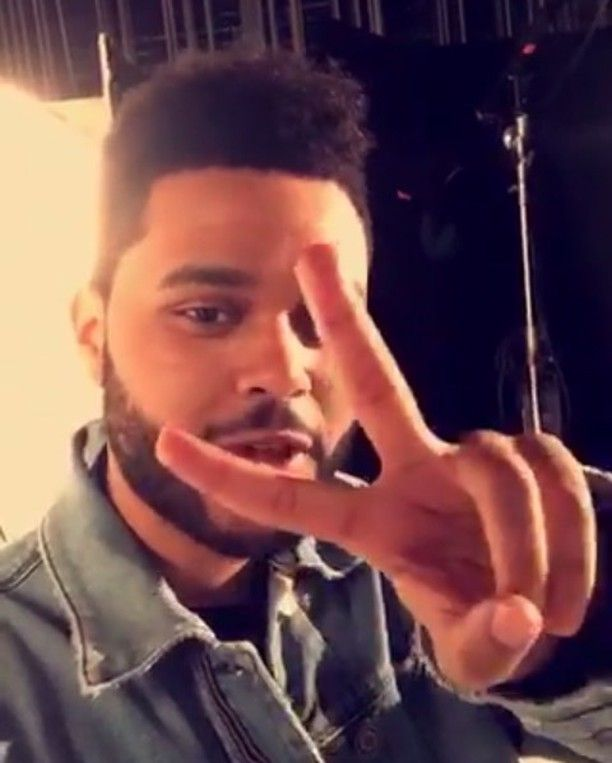 (Video on SNL instagram) Follow @theweeknd backstage at the #SNLPremiere on our Snapchat Live Story!