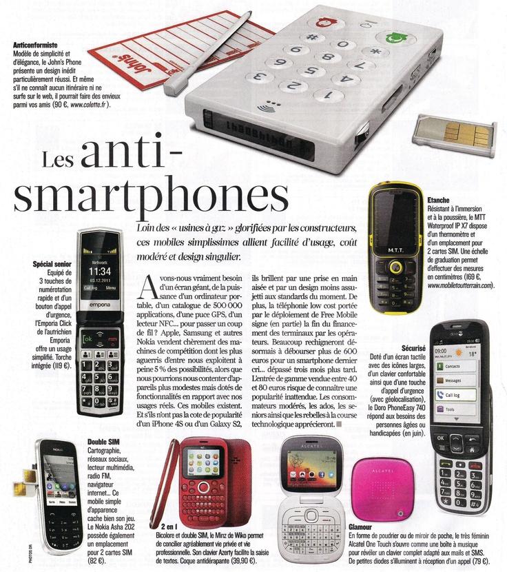 Les anti-smartphones