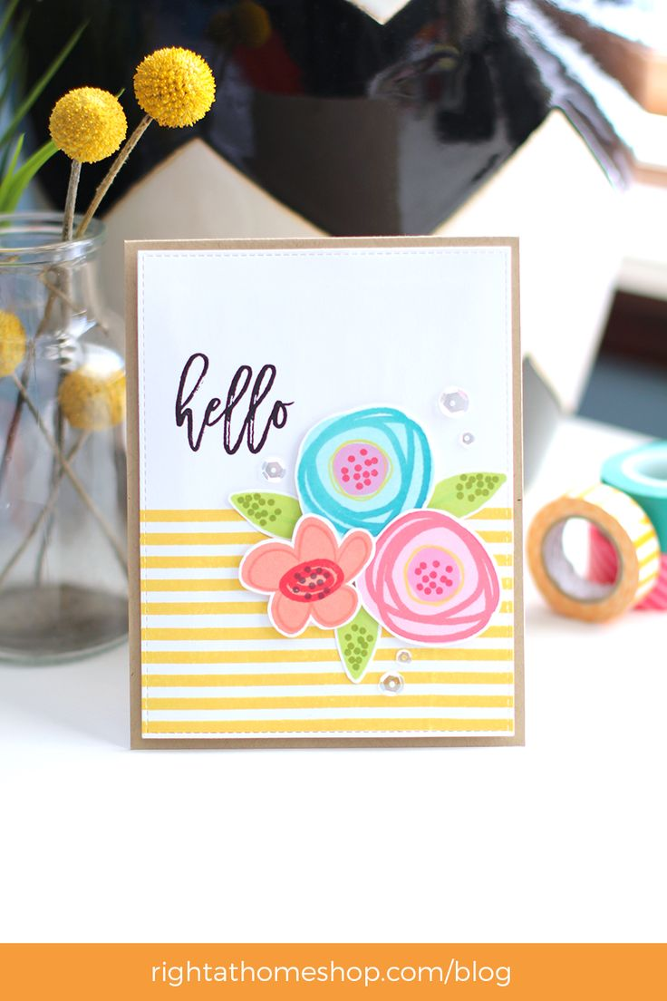 33 best right at home cards images on pinterest at home more ideas kristyandbryce Image collections