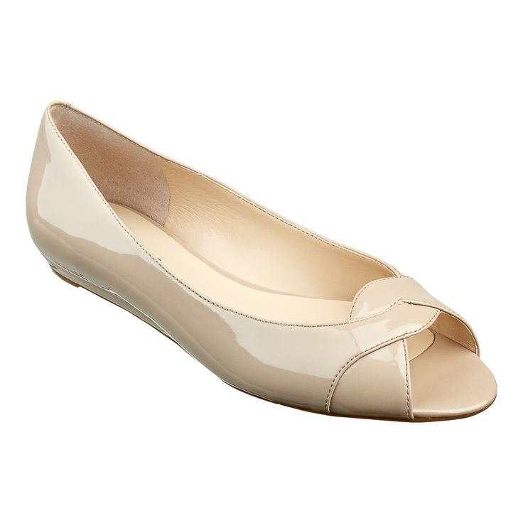 173 best images about peep toe flat shoes on
