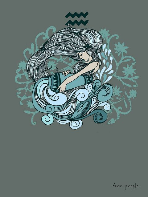Aquarius, of wind and water