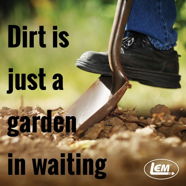 Dirt is just a garden in waiting... LEM Products | The Leader In Game Processing
