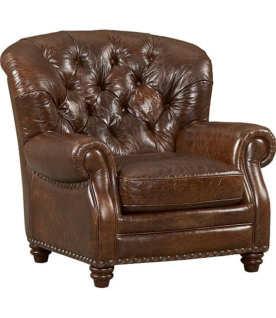 Leather Chair From Haverty's