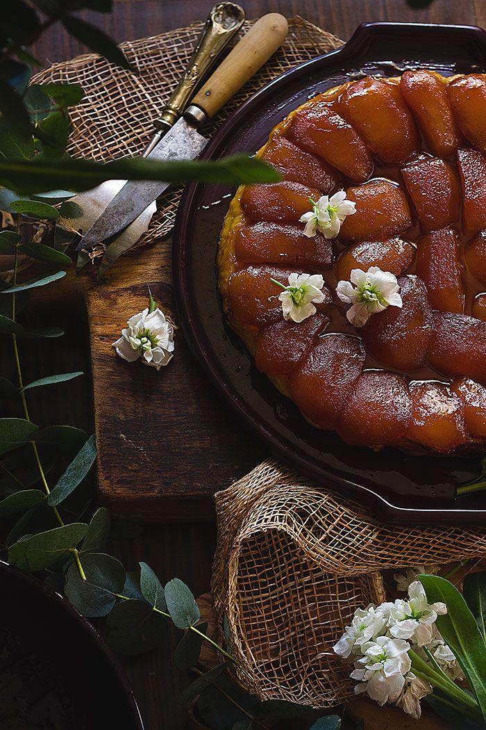 Yerbabuena en la cocina: Tarta Tatín de manzana