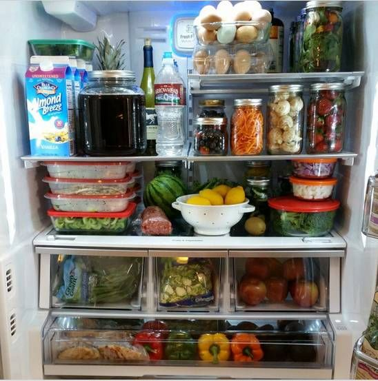 Clean Eating Food Prep - Look Inside Rachel Maser Fridge Prep  http://cleanfoodcrush.com/food-prep/