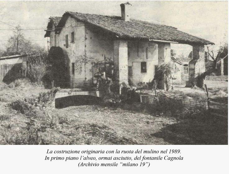 La cascina Molino Dorino nel 1989