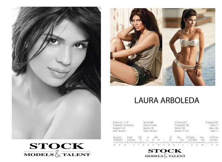 Laura Arboleda- Modelo Stock Models -