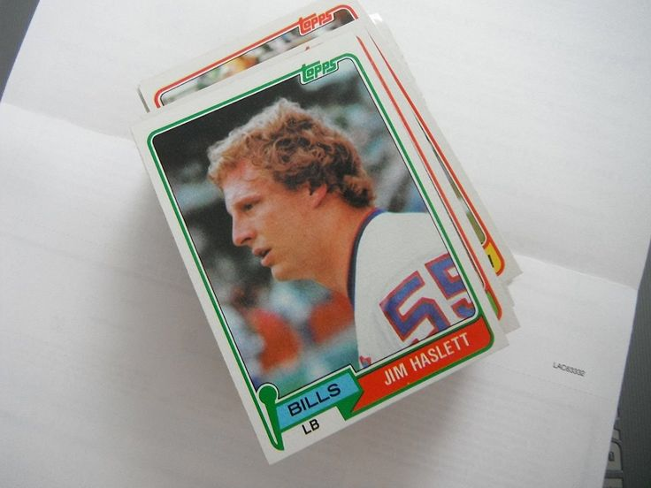 Jim Haslett 1981 Topps 173 Rookie Football Card Near Mint - Buffalo Bills *** This is an Amazon Affiliate link. Click image for more details.