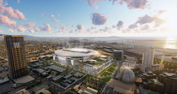 El nuevo estadio de los Chargers