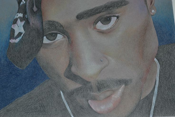 TUPAC drawn by my daughter