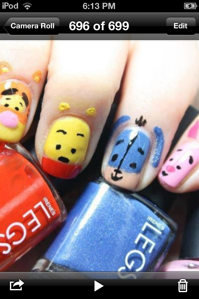 Disney nails ^.^...YES, YES, and YESSSSS!