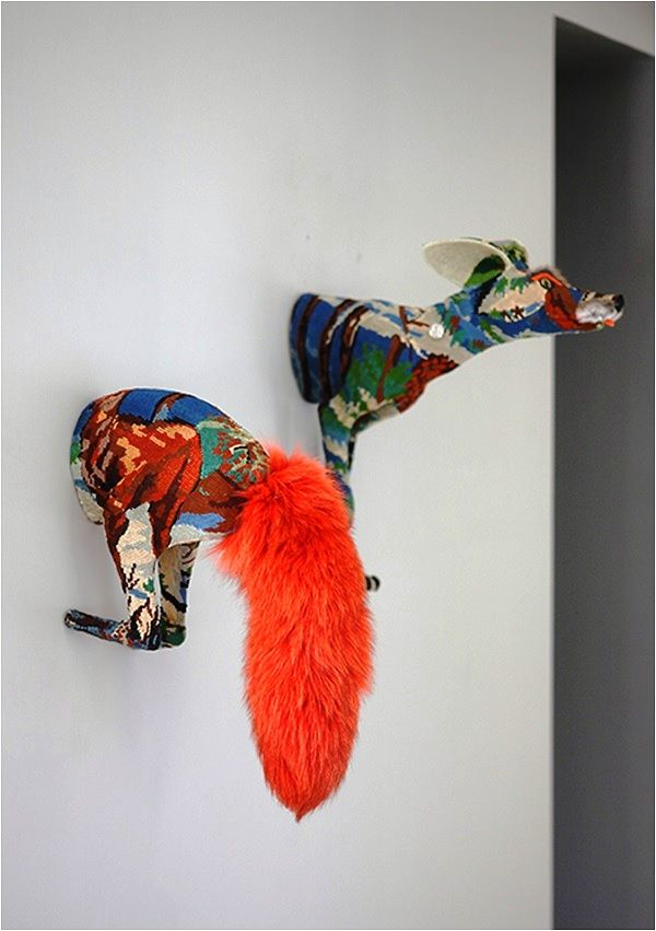 Frédérique Morrel Tapestry Taxidermy, Image Source Tracy Lee Lynch