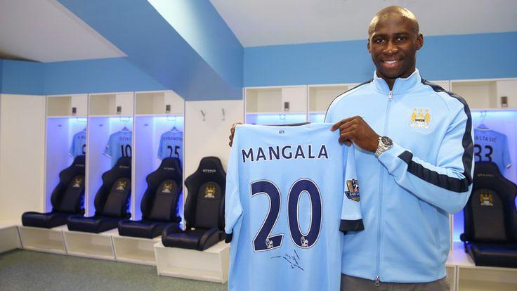 Eliaquim Mangala signs