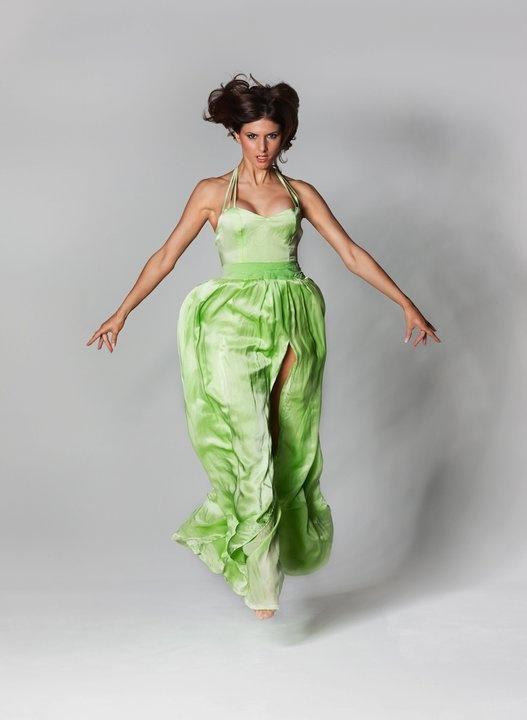 Photographer: Arnaldo Ilagan Model: Sina King Designer: Denise SL Spalk