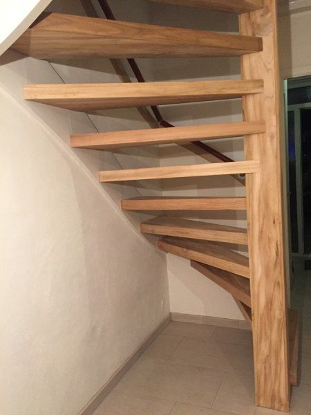 25 beste idee n over open trap op pinterest kelder for Open trap renovatie