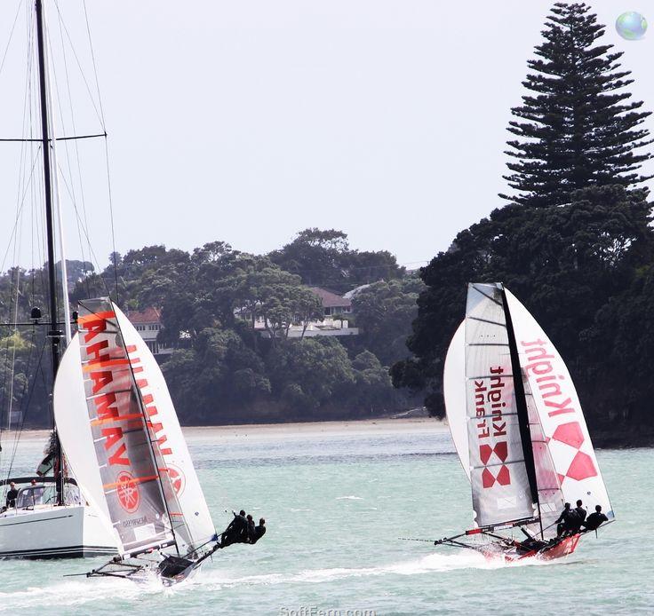 Auckland Anniversary Day Regatta 2014. 9 PHOTOS