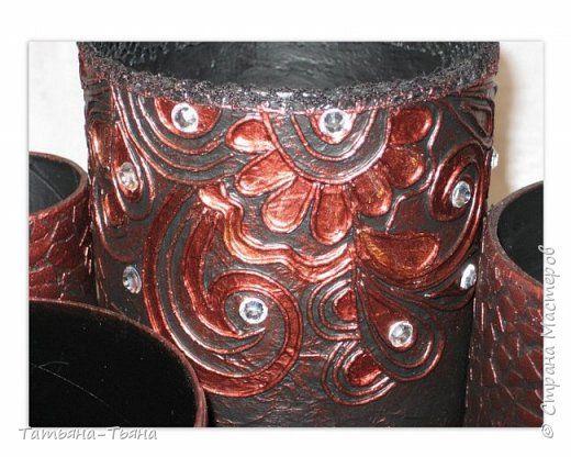 Декор предметов Аппликация из скрученных жгутиков Часы и органайзер в технике пейп-арт Акварель Салфетки фото 10