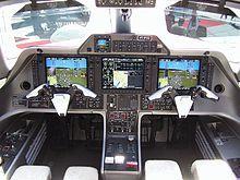 Phenom 100 EMB-500 Cockpit 2011 - Embraer Phenom 100 - Wikipedia, the free encyclopedia