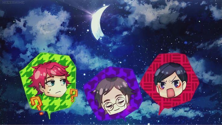 Let's drink !! What ?? The moon is watching them... <3   Kono Danshi, Mahou ga Oshigoto Desu