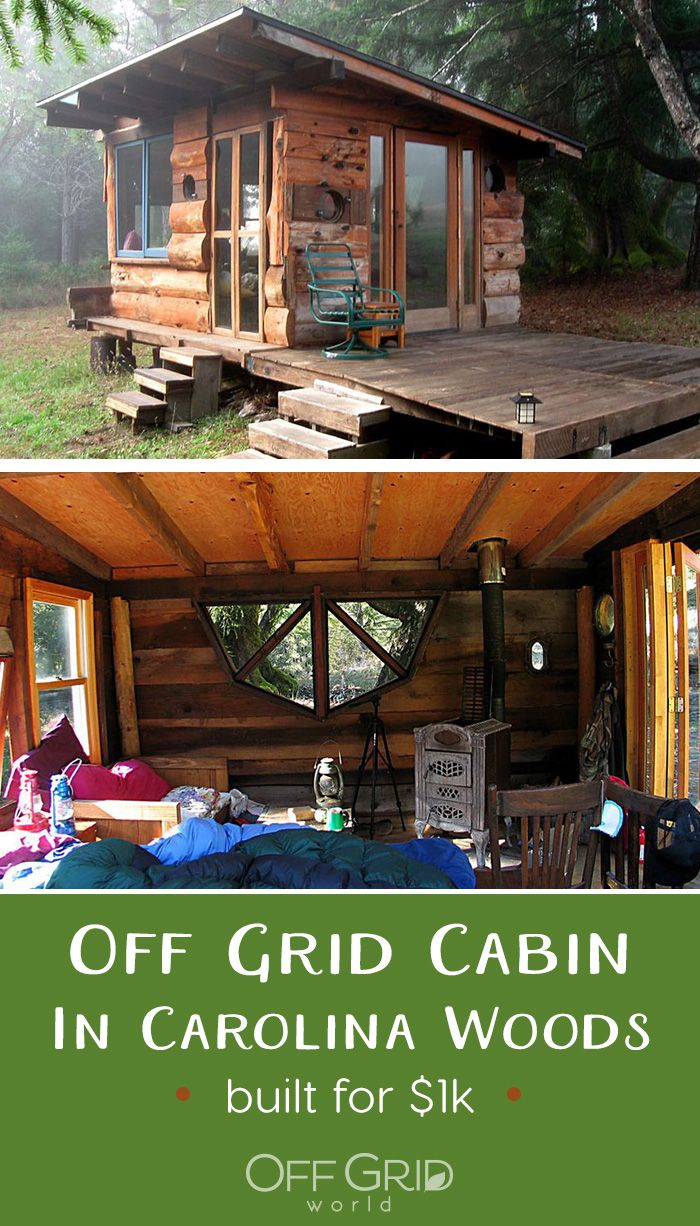 Off Grid Tiny House Deep In The Carolina Woods Built For 1000