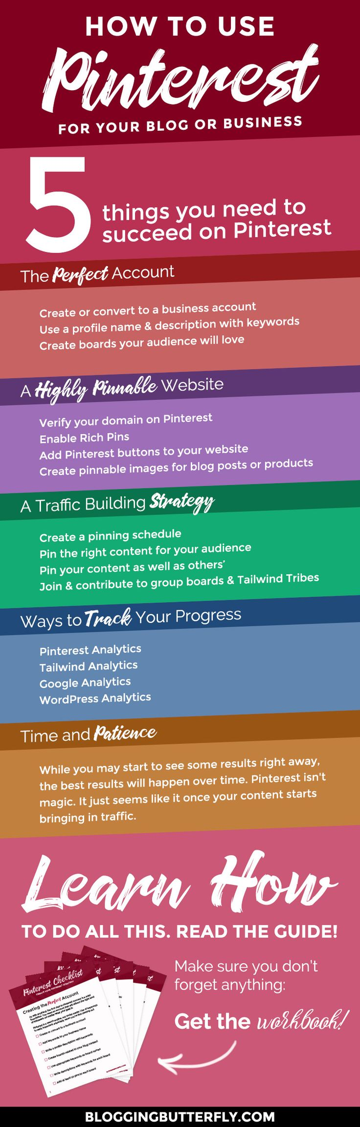 Pinterest for Bloggers: How to Use Pinterest to Drive Traffic to Your BlogElizabeth Atwood of Rock-A-Bye Parents (Parenting & Homemaking Tips for Busy Working Moms)