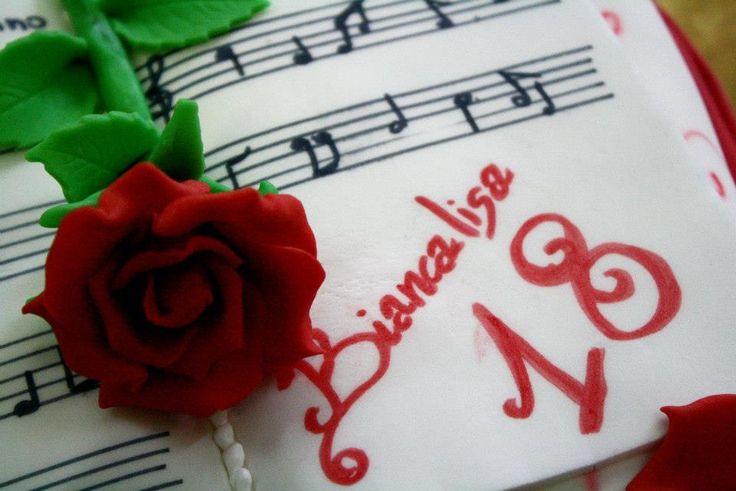 La musica: #torta di simocakedesign a Tollo